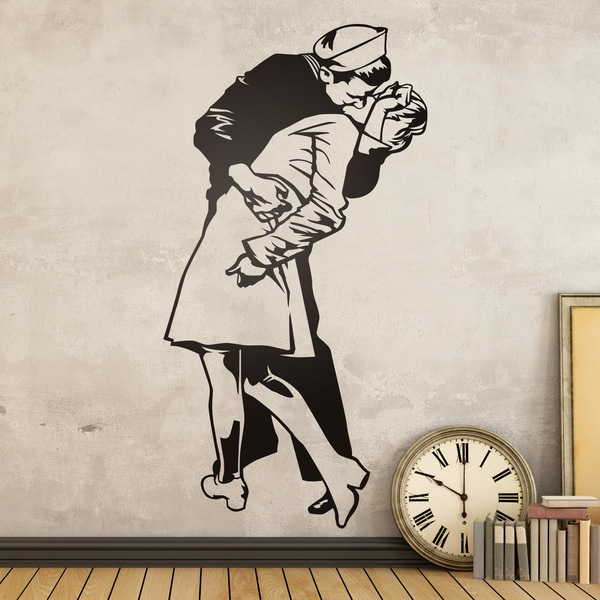 Wall Stickers: Kiss