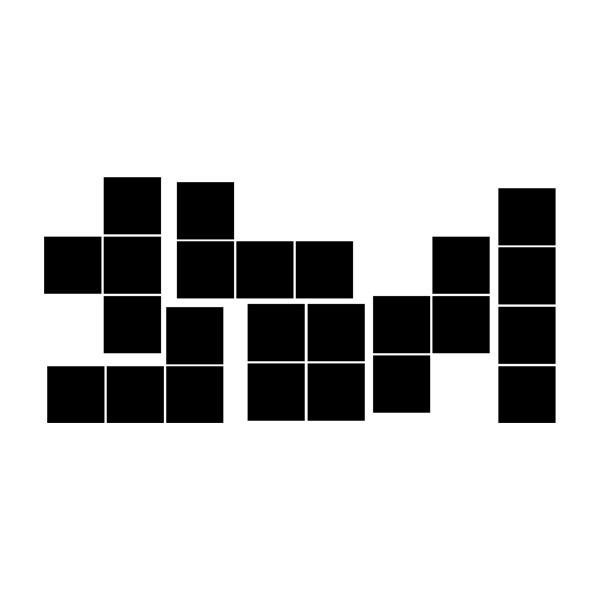 Wall Stickers: Block kit
