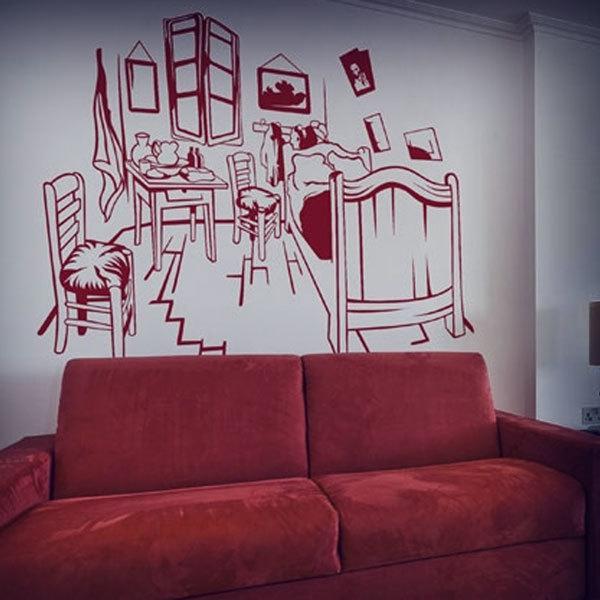 Wall Stickers: Van Gogh Room