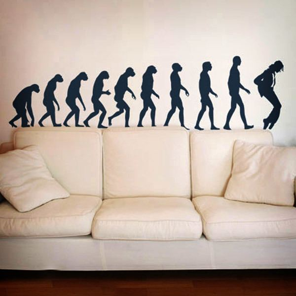 Wall Stickers: Evolution Jackson