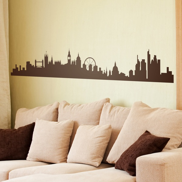 Wall Stickers: London Skyline