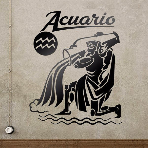 Wall Stickers: zodiaco 45 (Acuario)