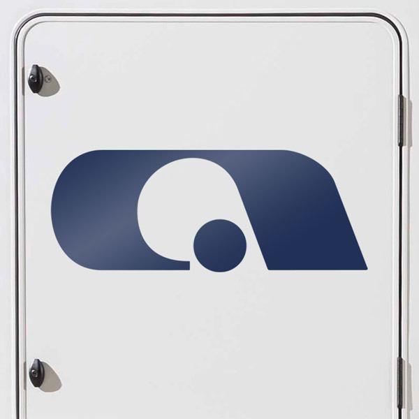 Car and Motorbike Stickers: Adria 1