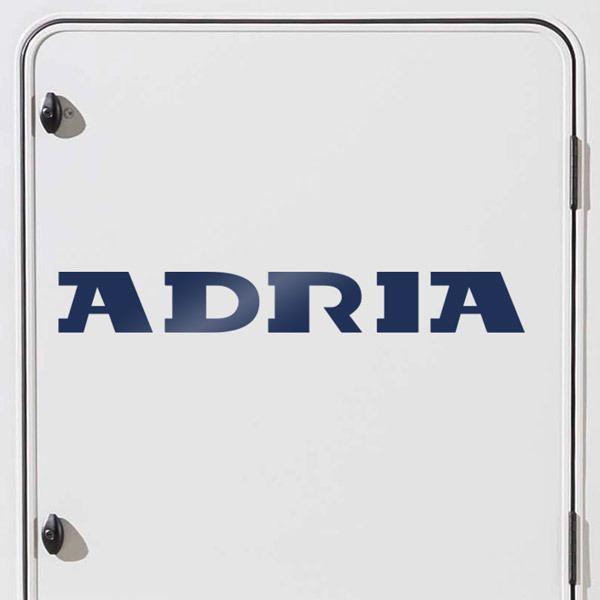 Car and Motorbike Stickers: Adria 2