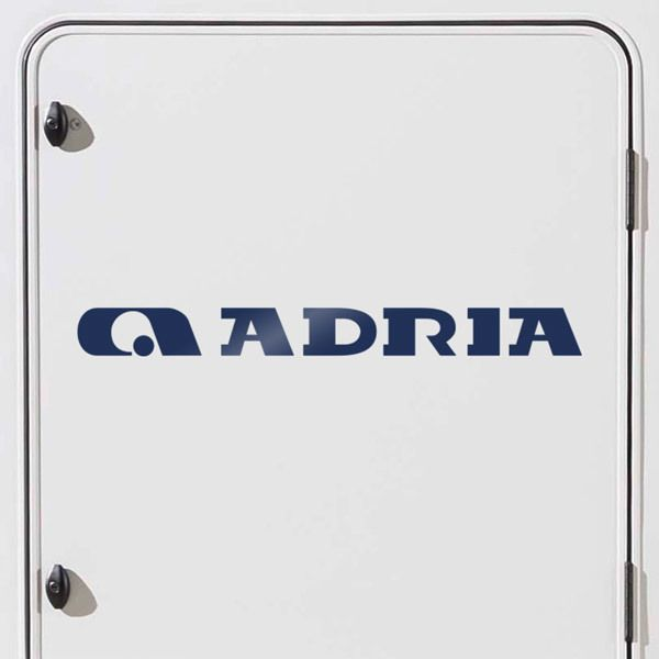 Car and Motorbike Stickers: Adria 3