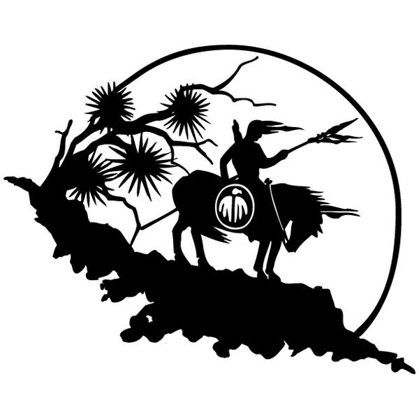 Car and Motorbike Stickers: indio2