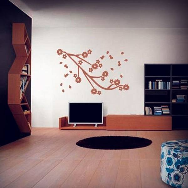 Wall Stickers: Almond