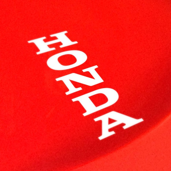 Car and Motorbike Stickers: Honda Letters vertical