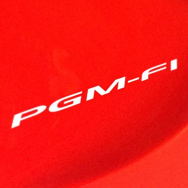 Car and Motorbike Stickers: Honda PGM-FI