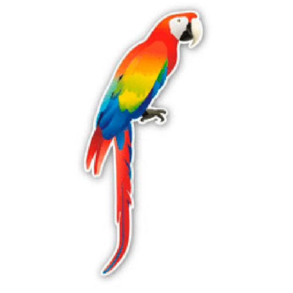 Car and Motorbike Stickers: Parrot 1