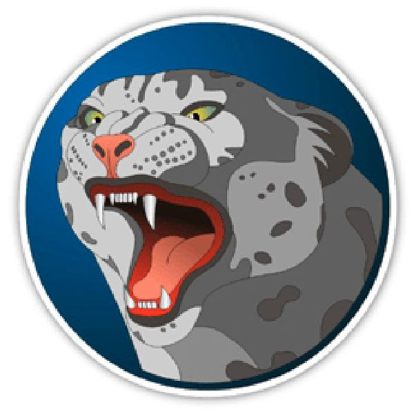 Car and Motorbike Stickers: Tiger 5