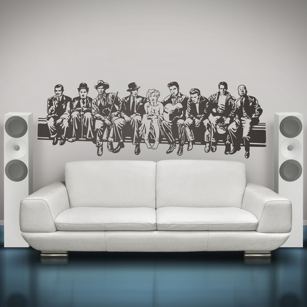 Wall Stickers: Hollywood Lunch