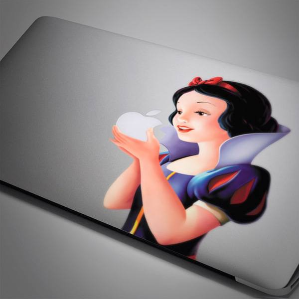 Car and Motorbike Stickers: Snow White