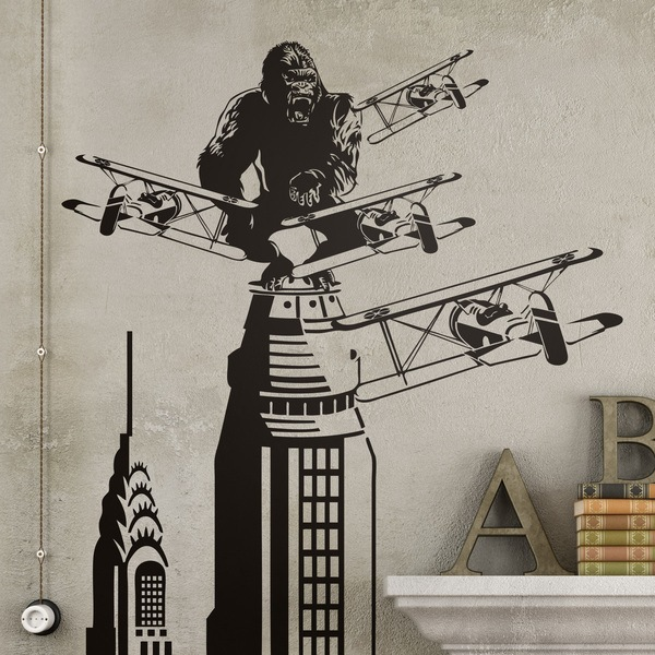 Wall Stickers: King Kong in New York