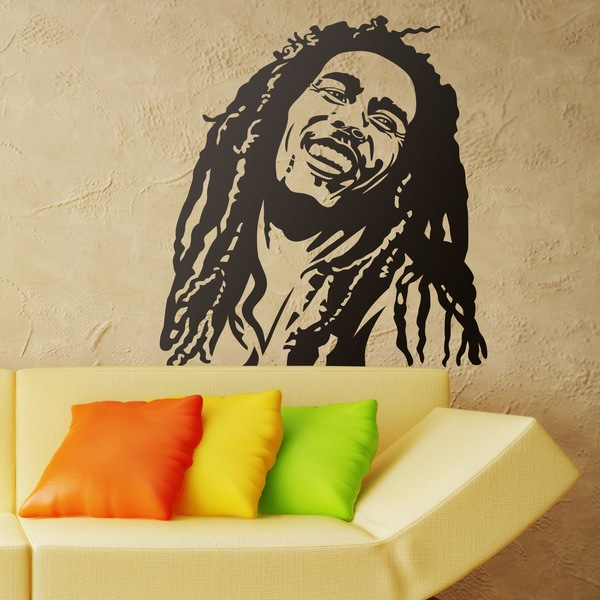 Wall Stickers: Bob Marley