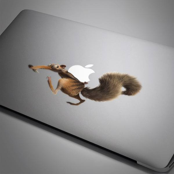 Car and Motorbike Stickers: Squirrel Scrat