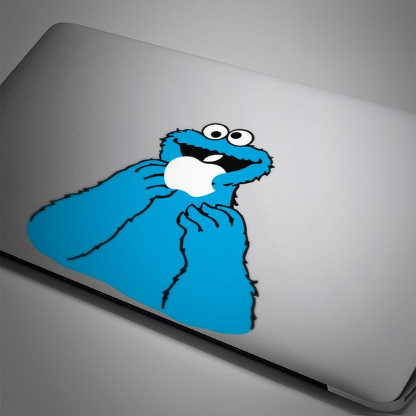 Car and Motorbike Stickers: Cookie Monster