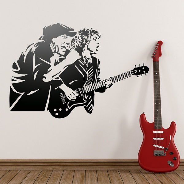 Wall Stickers: AC/DC
