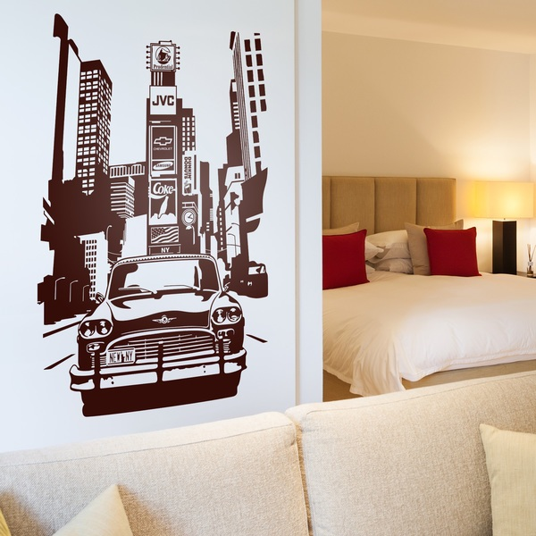 Wall Stickers: Taxi Nueva York