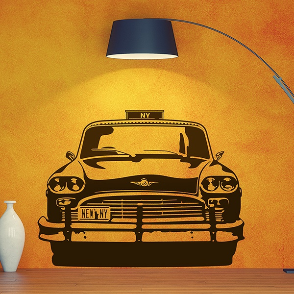 Wall Stickers: Checker Taxi