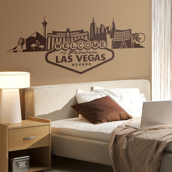 Wall Stickers: Las Vegas Skyline