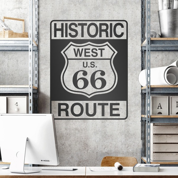 Wall Stickers: Historic Route 66