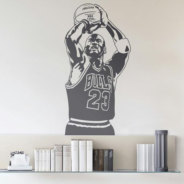 Wall Stickers: Basketball Player