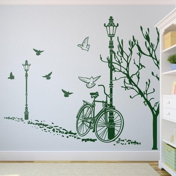 Wall Stickers: Autumn Bike