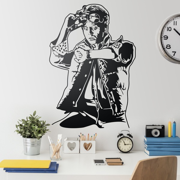 Wall Stickers: Marty McFly