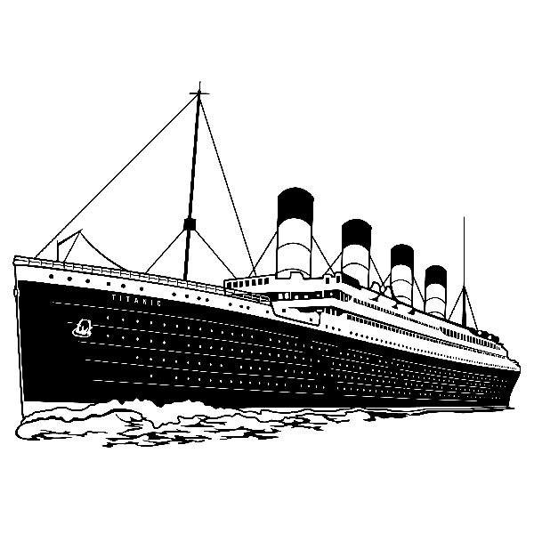 Wall Sticker Titanic Muraldecal Com