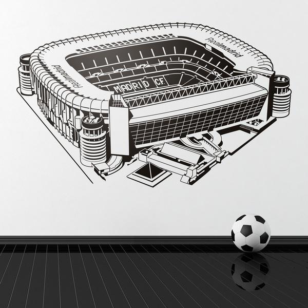 Stickers for Kids: Santiago Bernabéu Stadium