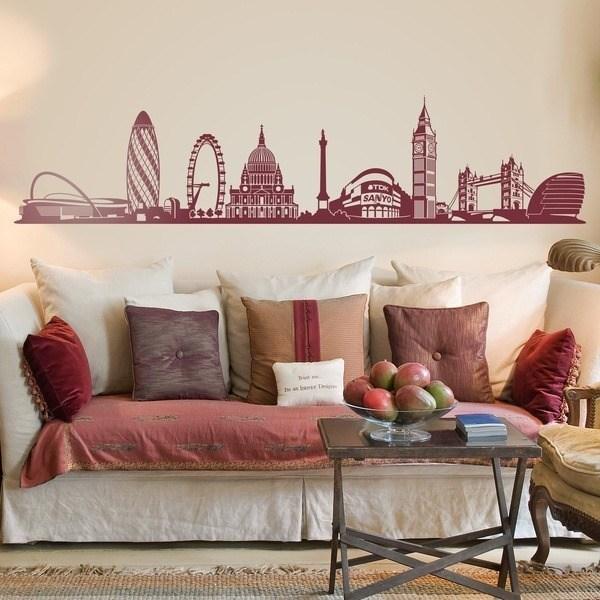 Wall Stickers: London Skyline