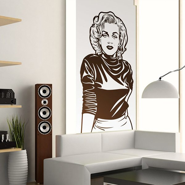 Wall Stickers: Marilyn Monroe