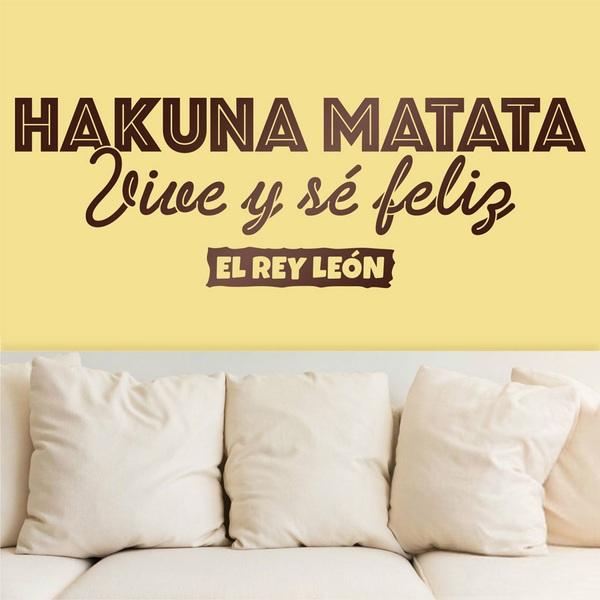 Wall Stickers: Hakuna Matata