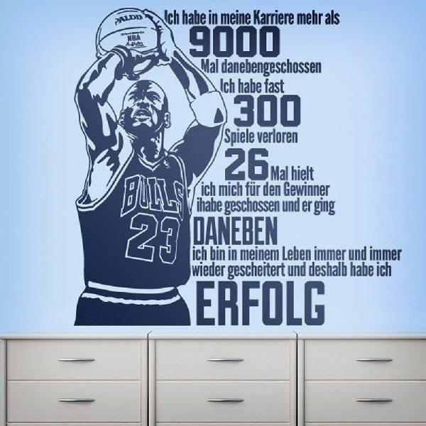 Wall Stickers: Der Erfolg von Michael Jordan