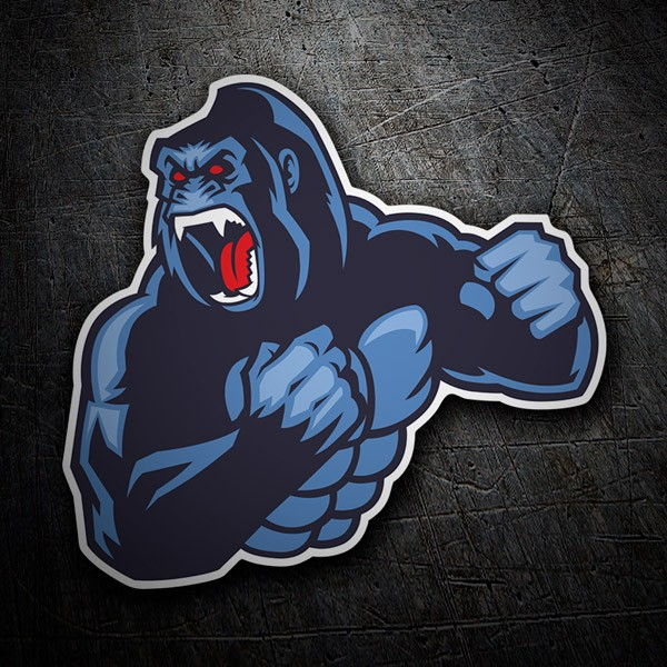 Car and Motorbike Stickers: Gorilla