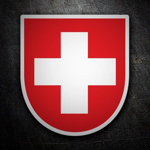 Car and Motorbike Stickers: Swish