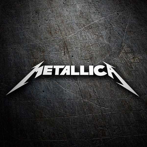 Car and Motorbike Stickers: Metallica 3