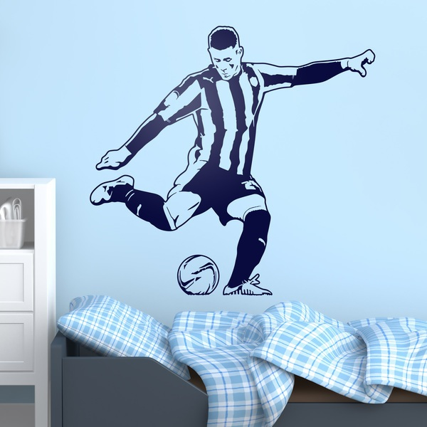 Wall Stickers: Soccer player