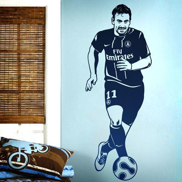 Wall Stickers: Footballer 1