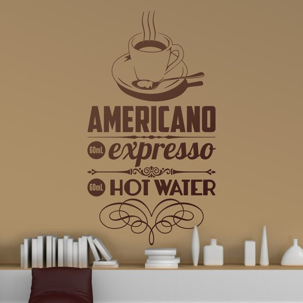 Wall Stickers: American Coffee
