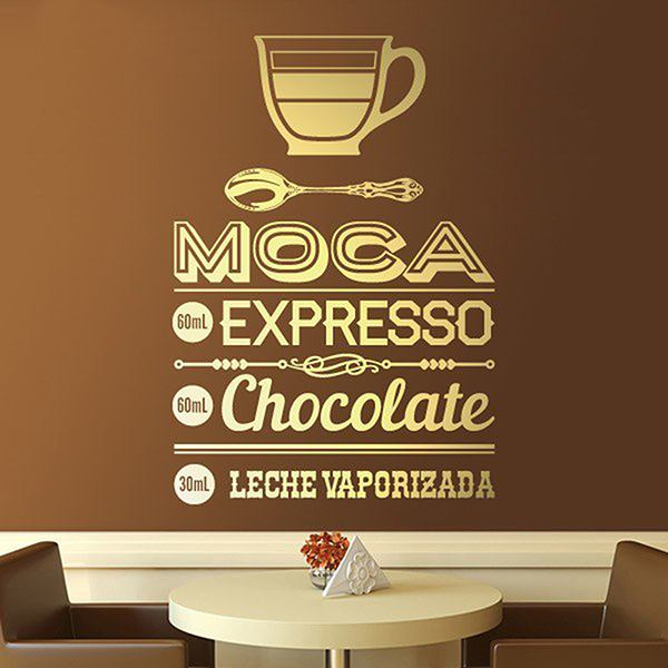 Wall Stickers: Café Moca