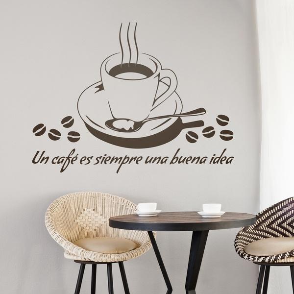 Wall Stickers: Un café es siempre una buena idea