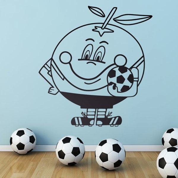Wall Stickers: Naranjito