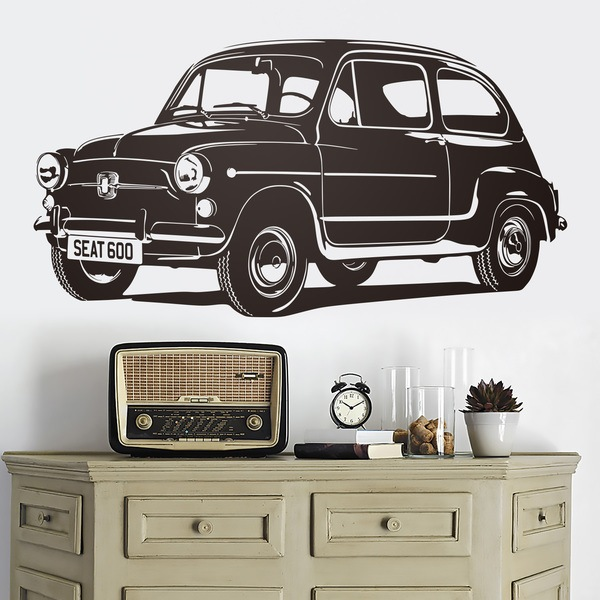 Wall Stickers: Seat 600