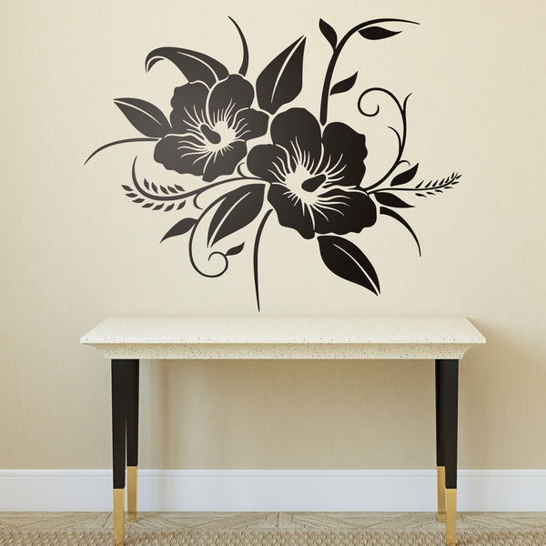 Wall Stickers: Hawaiian Flower