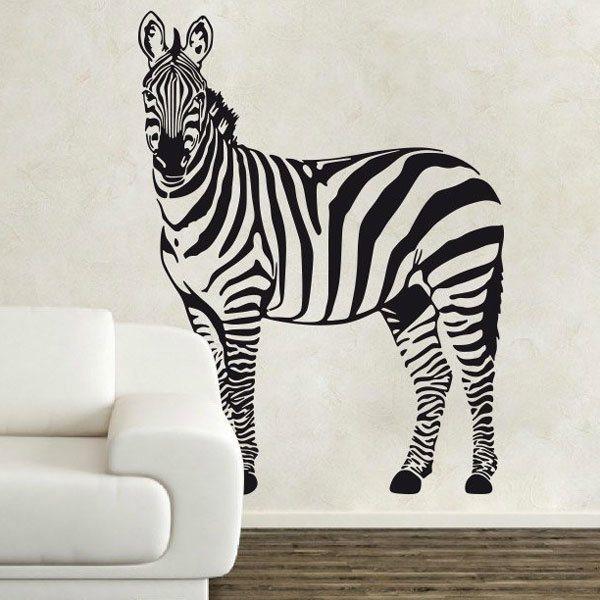 Wall Stickers: Zebra