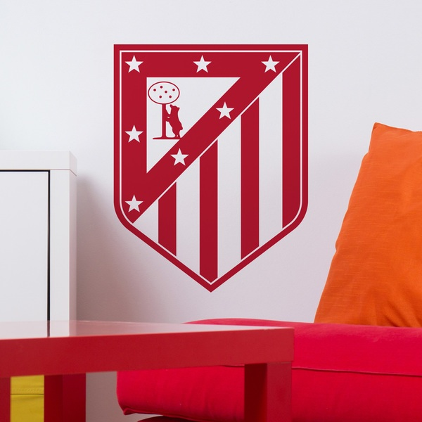 Wall Stickers: Atletico de Madrid Badge