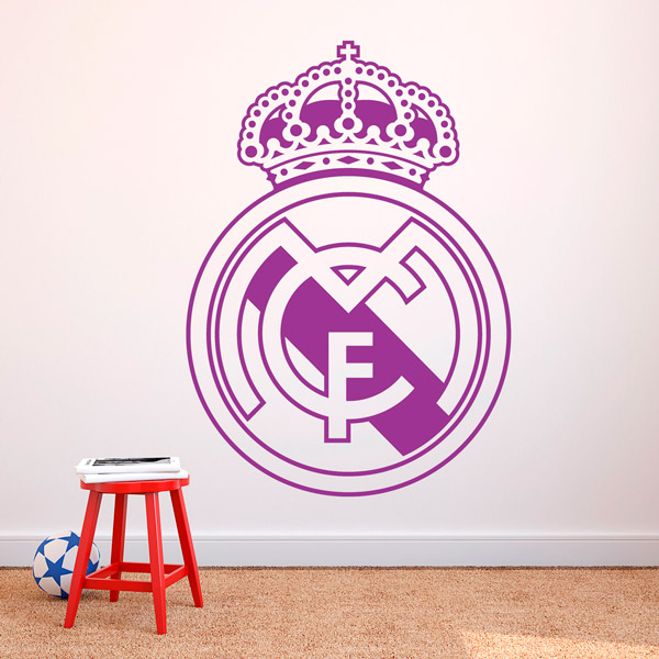 Wall Stickers: Real Madrid Badge