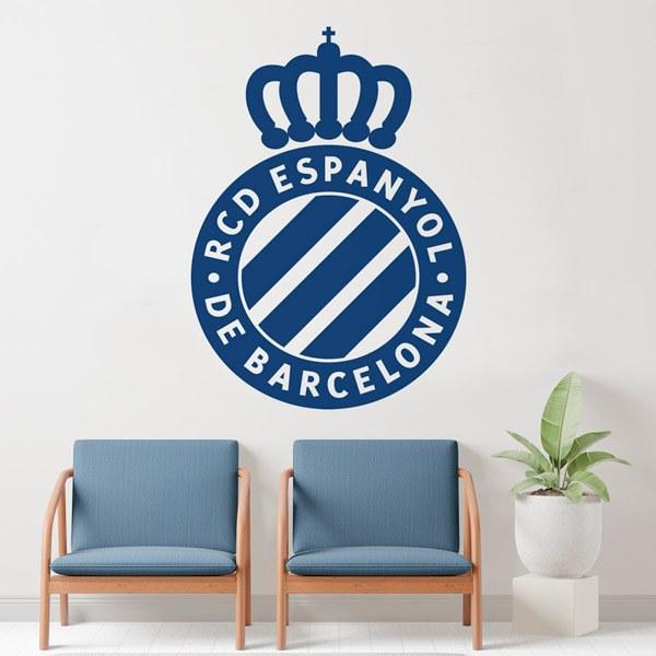 Wall Stickers: Espanyol de Barcelona Badge